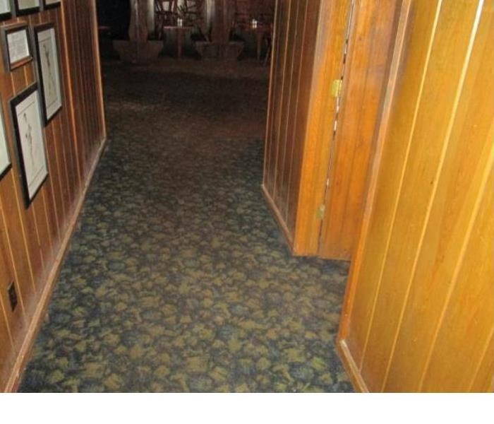 Local Restaurant Water Damage Before