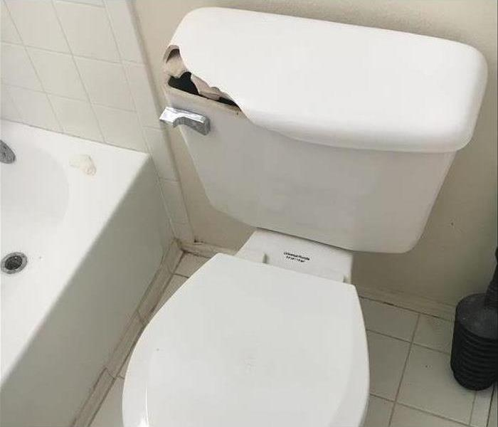 Mishap Causes Water Damage