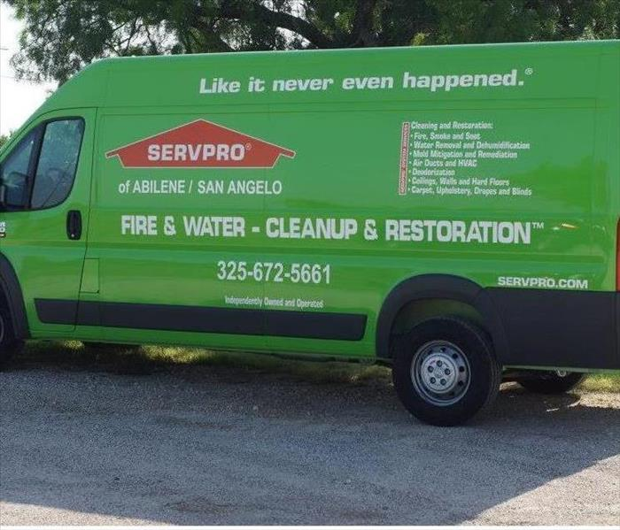 General For Immediate Service in the Big Country, Call SERVPRO